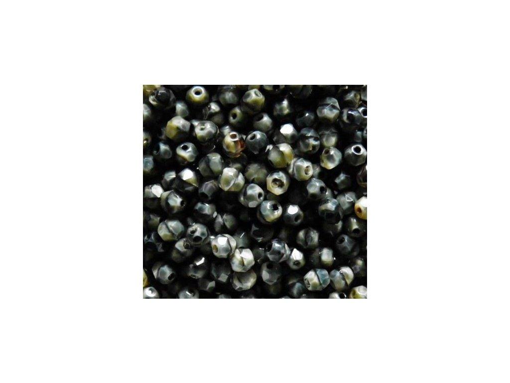 Korálky broušené - ohňovka 5 mm 26107