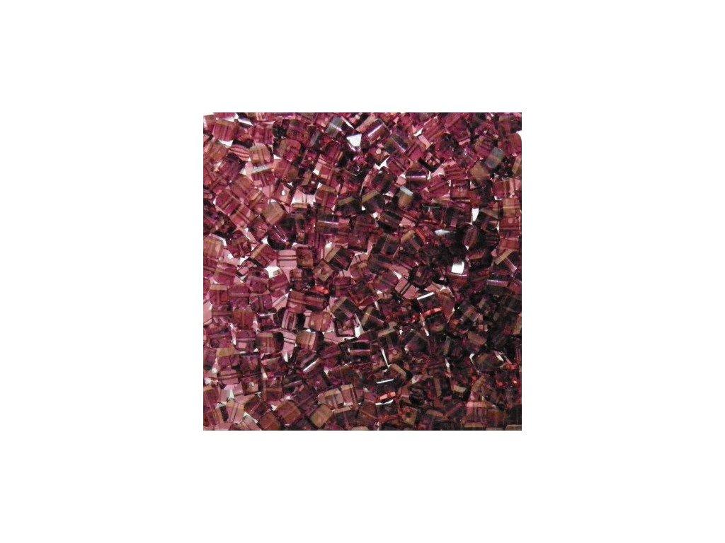 Korálky broušené - kostička 20060