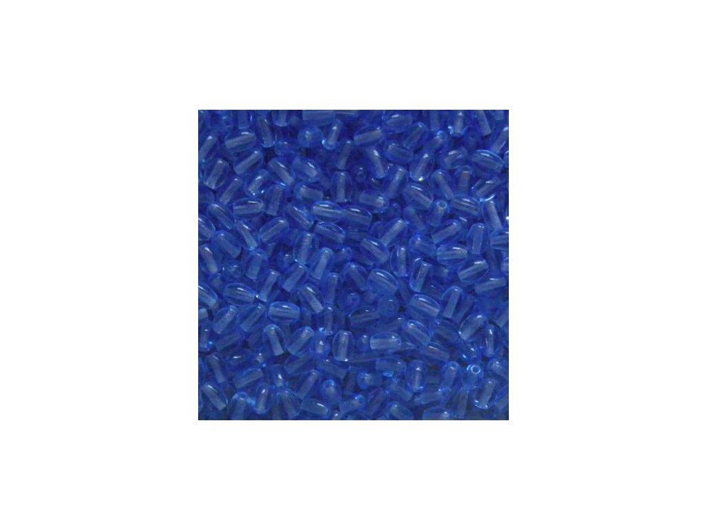Korálky mačkané - oliva 30030 - 6/4