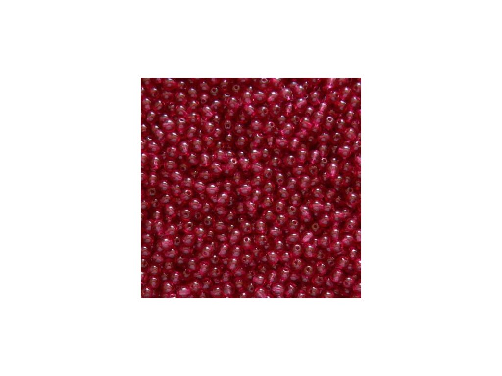 Korálky mačkané - kulička 4 mm - 70010 hnědo-růžová