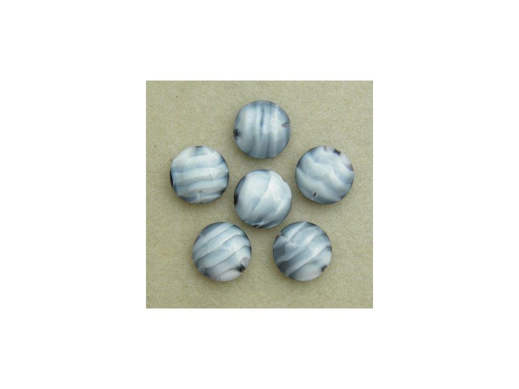 Korálky mačkané - MKL139 - lentilka 26067
