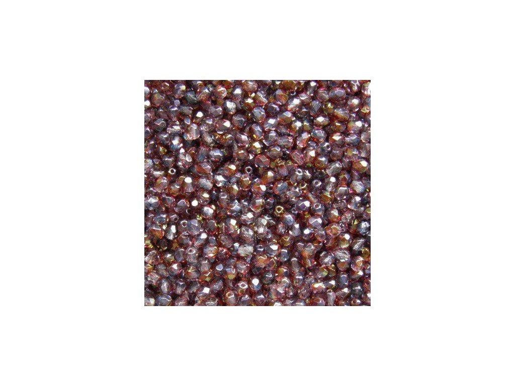 Korálky broušené - ohňovka 4 mm 91006