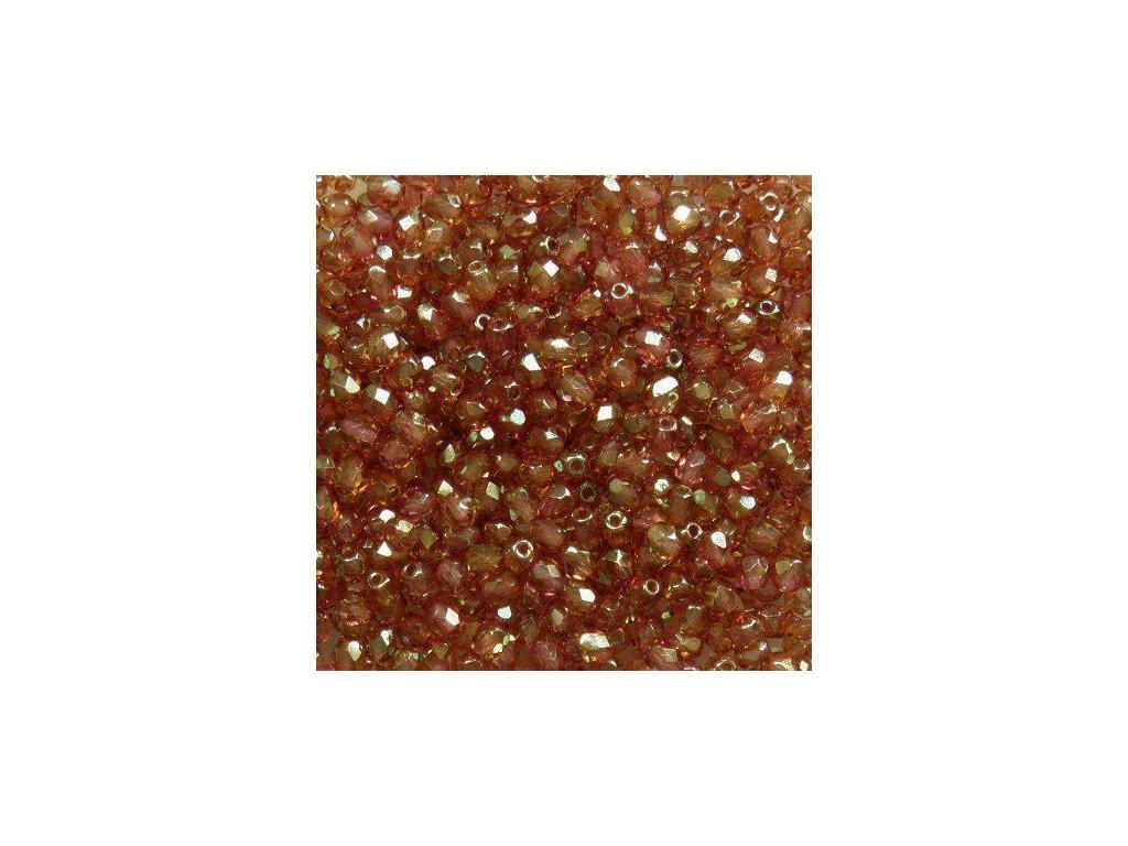 Korálky broušené - ohňovka 4 mm LK00030