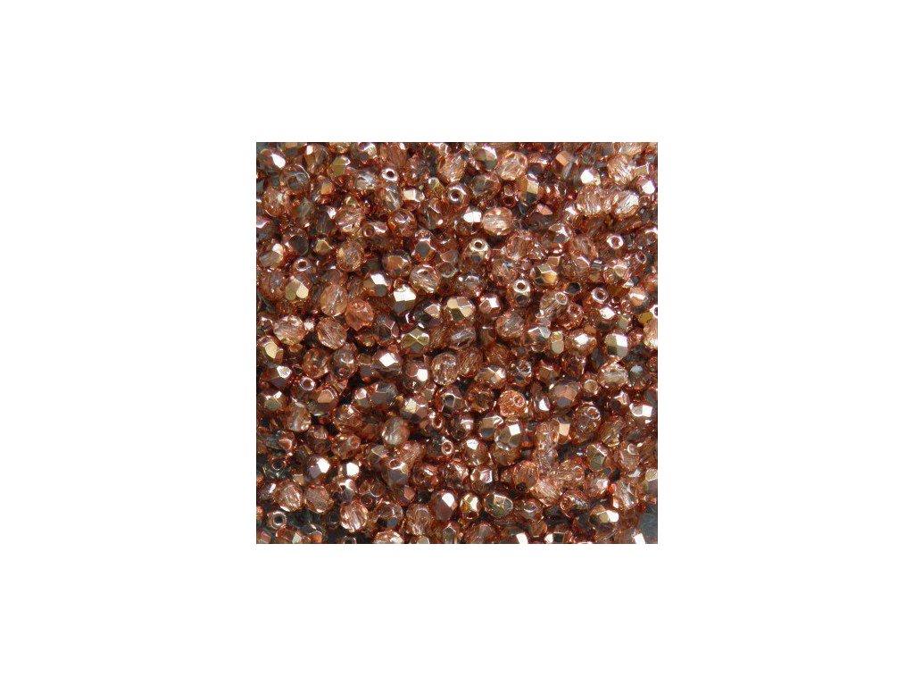 Korálky broušené - ohňovka 4 mm C00030