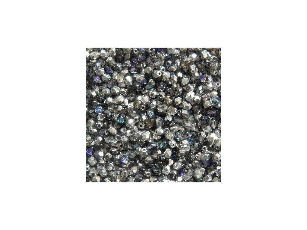 Korálky broušené - ohňovka 4 mm H29536
