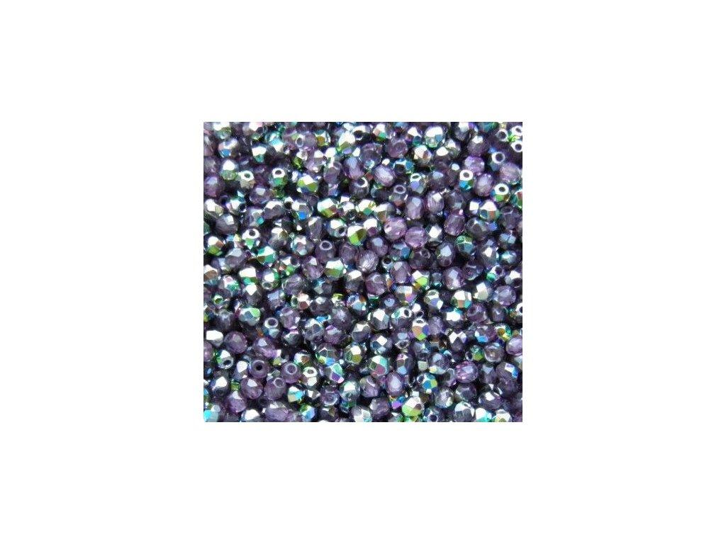 Korálky broušené - ohňovka 3 mm V20060