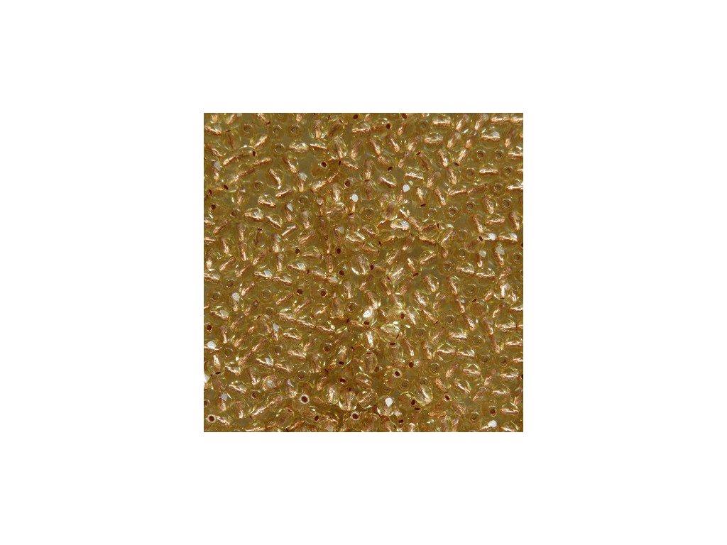 Korálky broušené - ohňovka 4 mm CL10210