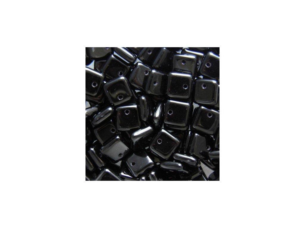Korálky mačkané - BP21 - čtvereček 23980 - 6 mm