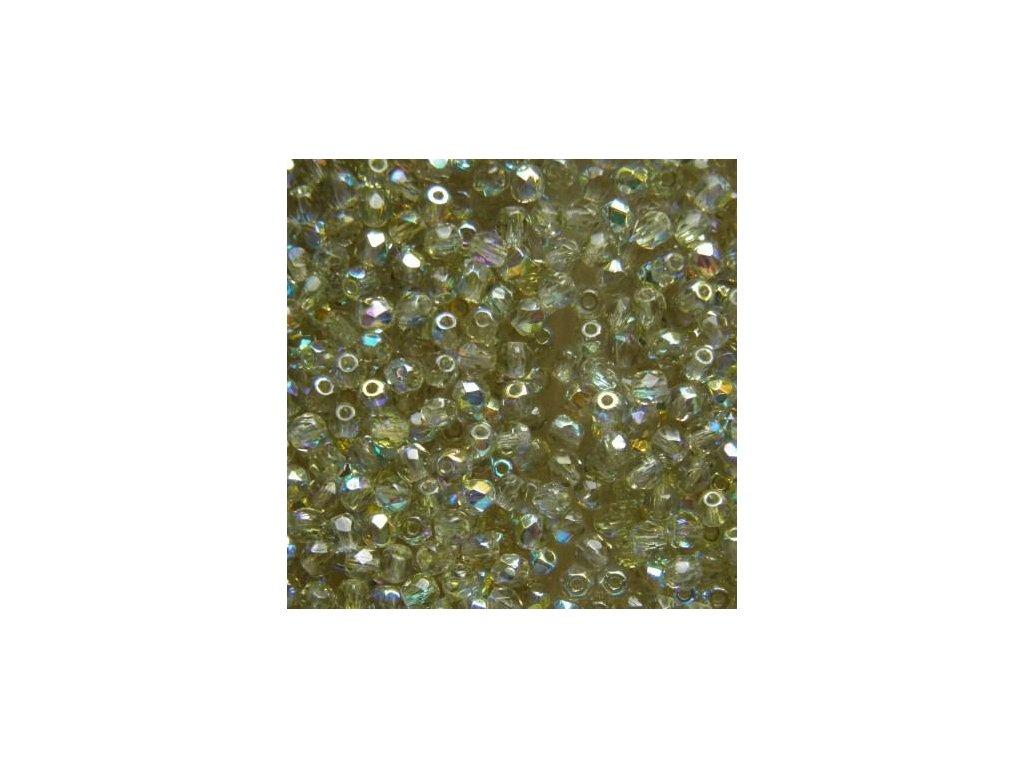 Korálky broušené - ohňovka 3 mm 40010/28701 - 50 ks