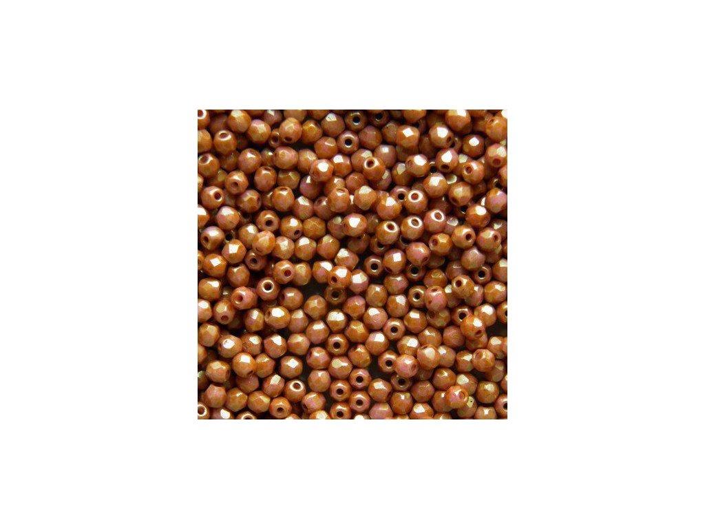 Korálky broušené - ohňovka 3 mm 00030/65491