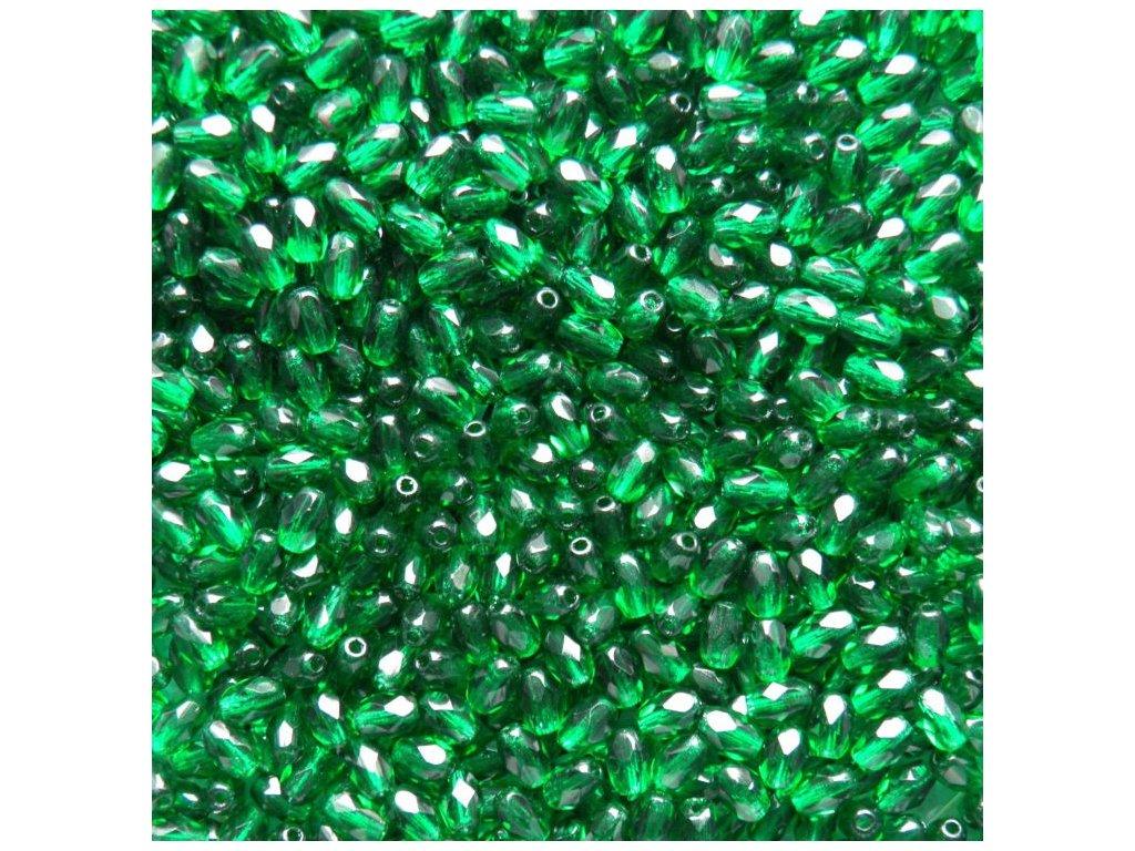Korálky broušené - oliva 50140 - 6/4