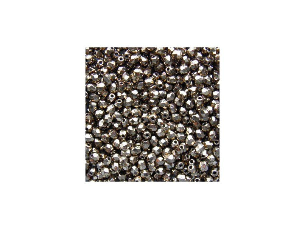 Korálky broušené - ohňovka 3 mm 90215JT