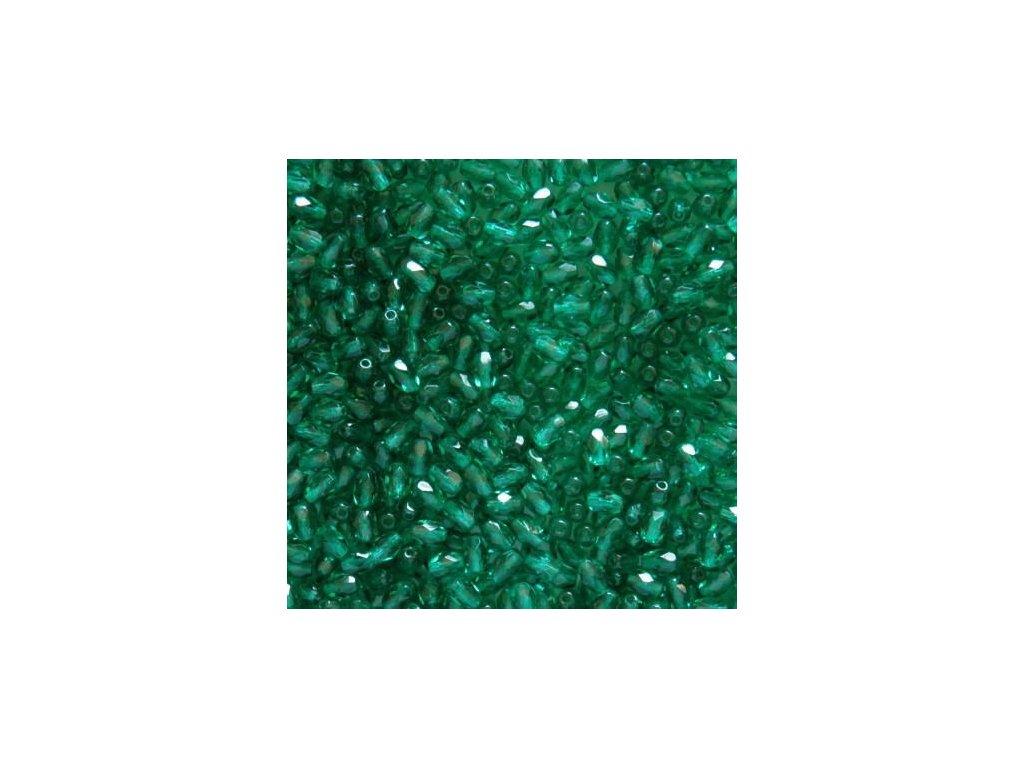 Korálky broušené - oliva 50720 - 6/4