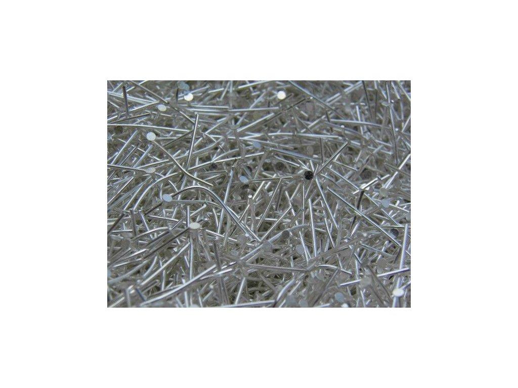 Ketlovací nýt stříbrný 40 mm (CZ)