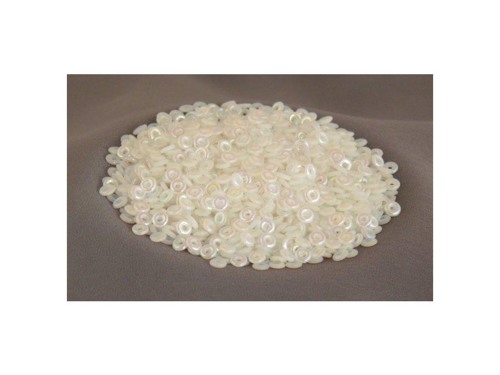 Korálky mačkané - kroužek 4 mm 02020/28700