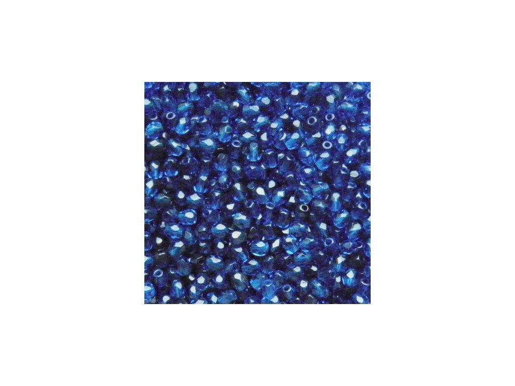 Korálky broušené - ohňovka 5 mm 60080 - 20 ks