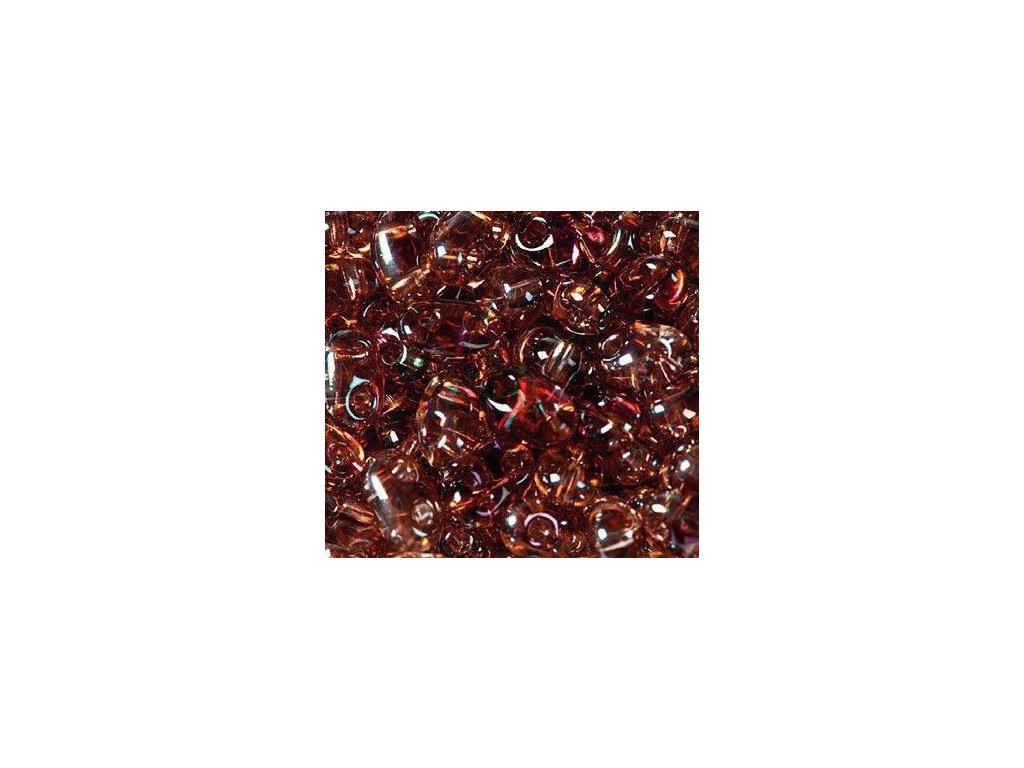 Korálky PRECIOSA Twin™ - krystal s listrem 20202