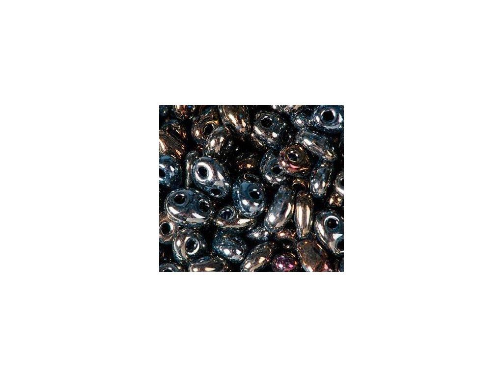 Korálky PRECIOSA Twin™ - 59115 bronzový mix