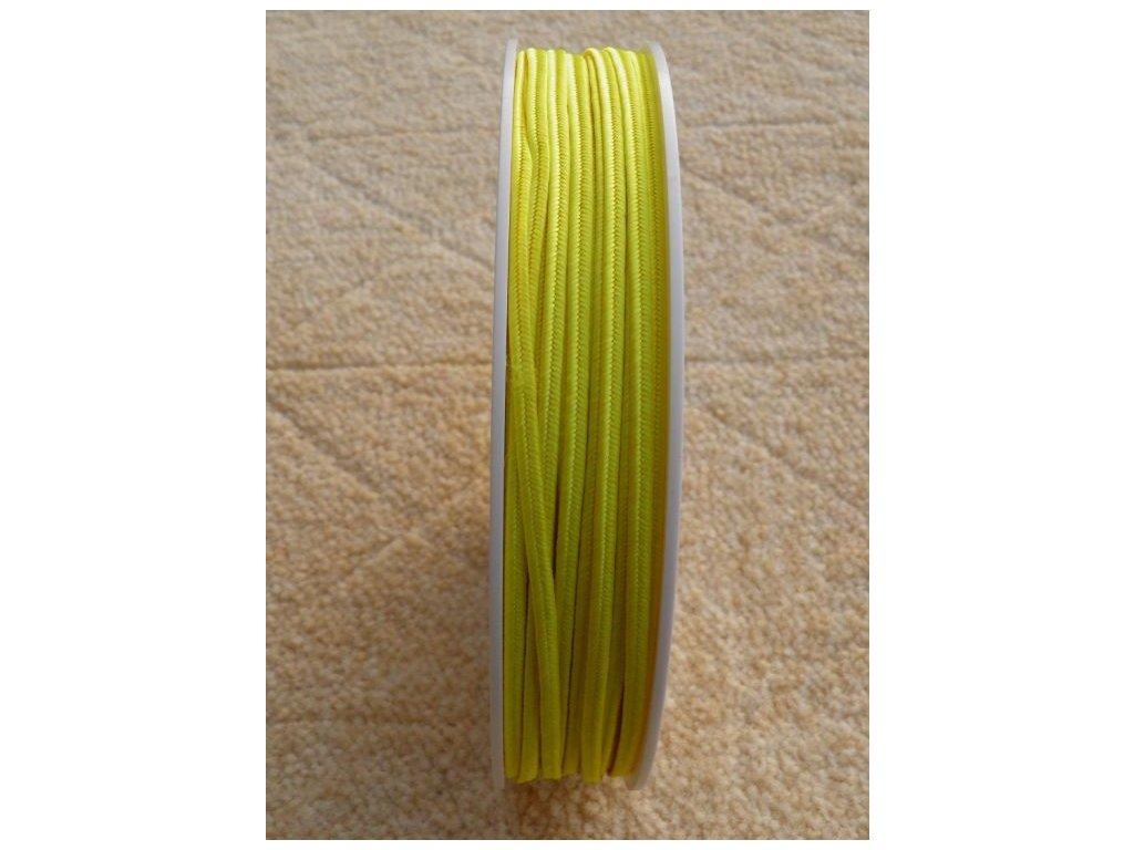 Sutaška 3 mm - č. 06 - žlutá 4201