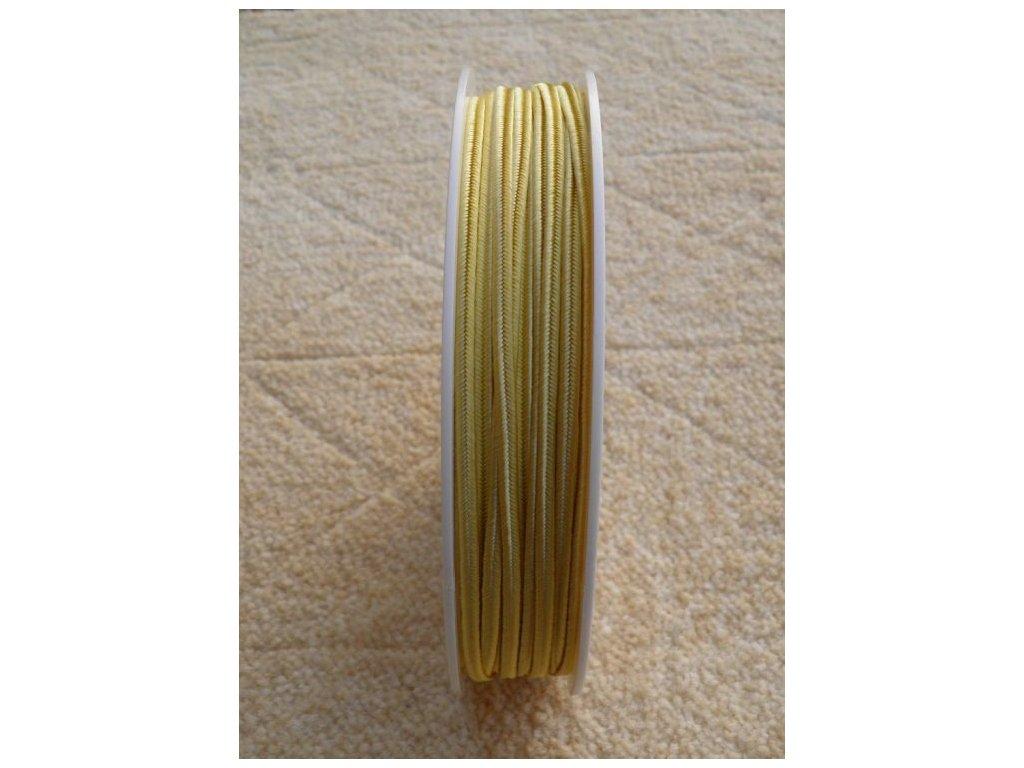 Sutaška 3 mm - č. 07 - světlá žlutá 1203