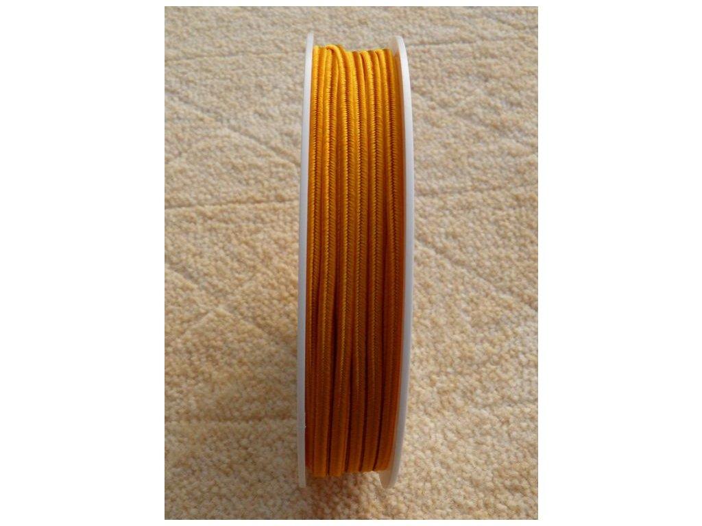 Sutaška 3 mm - č. 10 - oranžová 7301