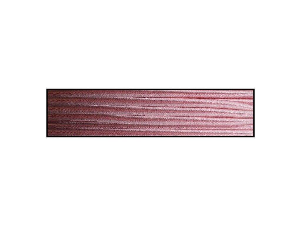 Sutaška 3 mm - č. 49 - světle růžová 4401