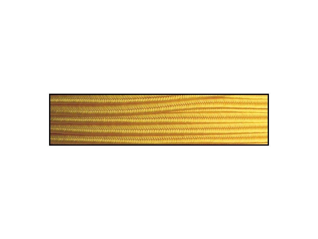 Sutaška 3 mm - č. 52 - žlutá 4202