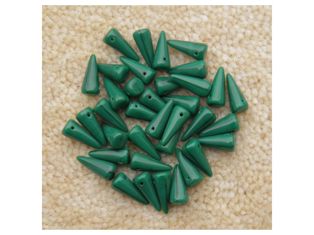 Korálky Spike Beads - trn 53240 - 6 x 14 mm - 10 ks