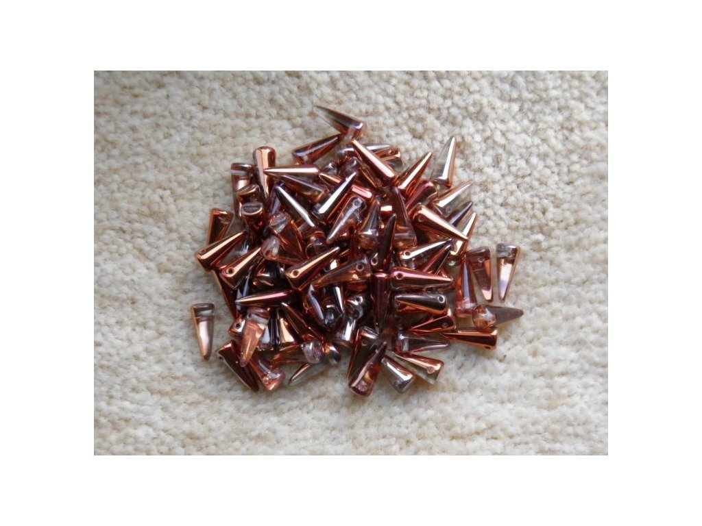 Korálky Spike Beads - trn 00030/27137 - 5 mm x 13 mm - 10 ks