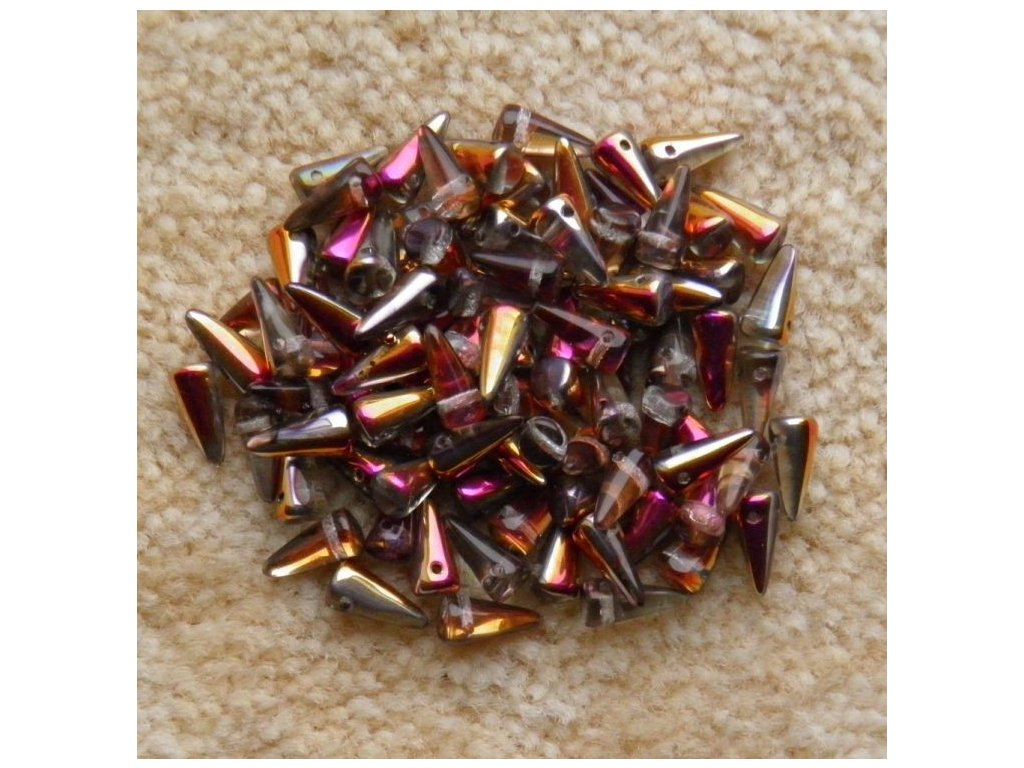 Korálky Spike Beads - trn 00030/27103 - 5 mm x 10 mm - 10 ks