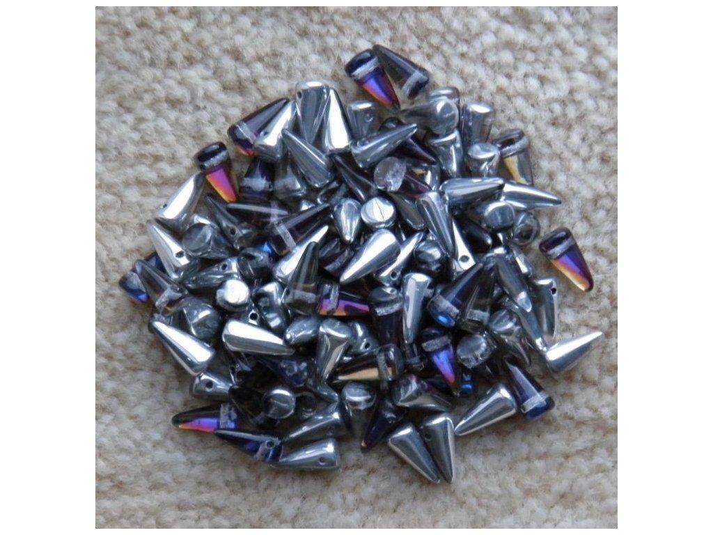Korálky Spike Beads - trn 00030/26901 - 5 mm x 10 mm - 10 ks