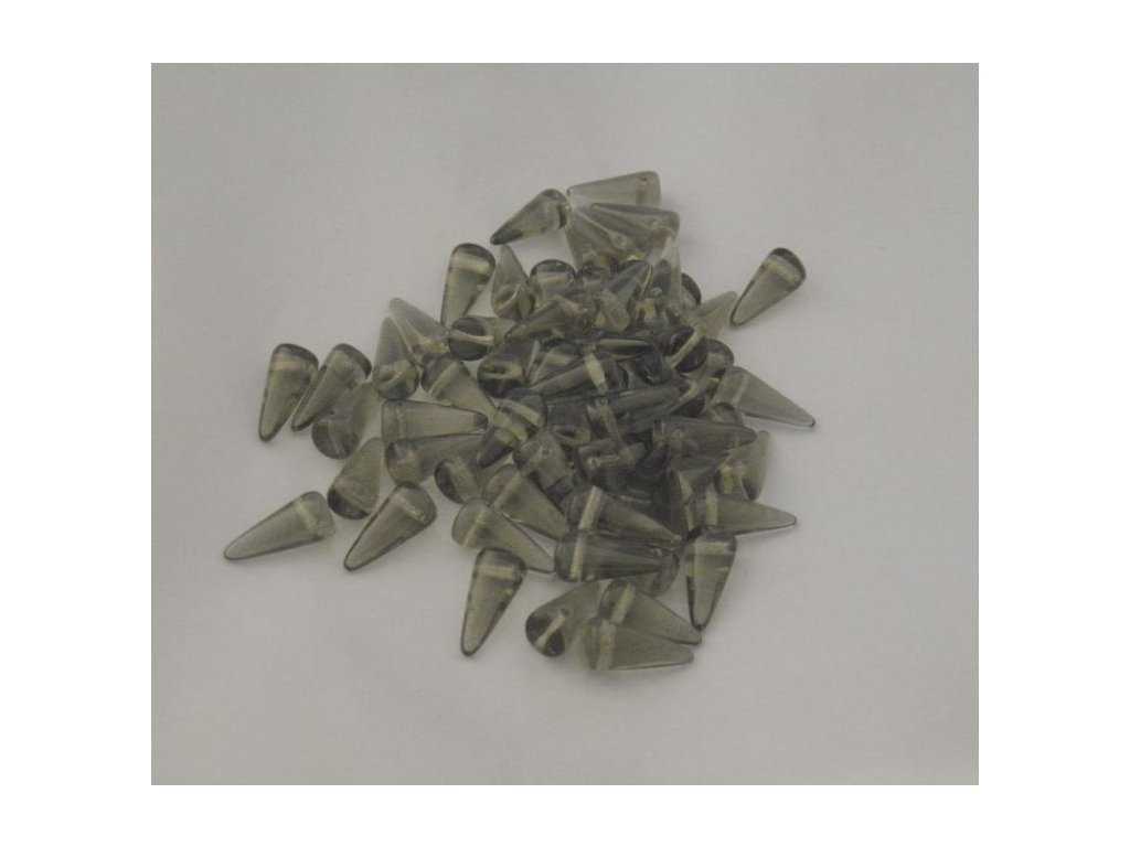 Korálky Spike Beads  - trn 40020 - 6 x 14  mm