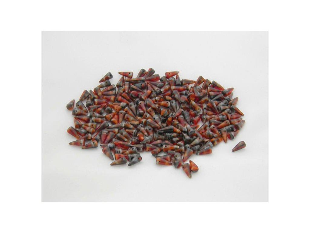 Korálky Spike Beads  - trn 26907 - 5 x 10  mm