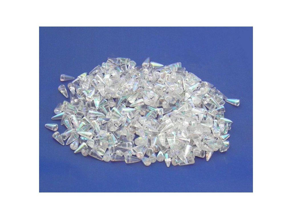 Korálky Spike Beads  - trn 00030/28701 - 5 x 10  mm