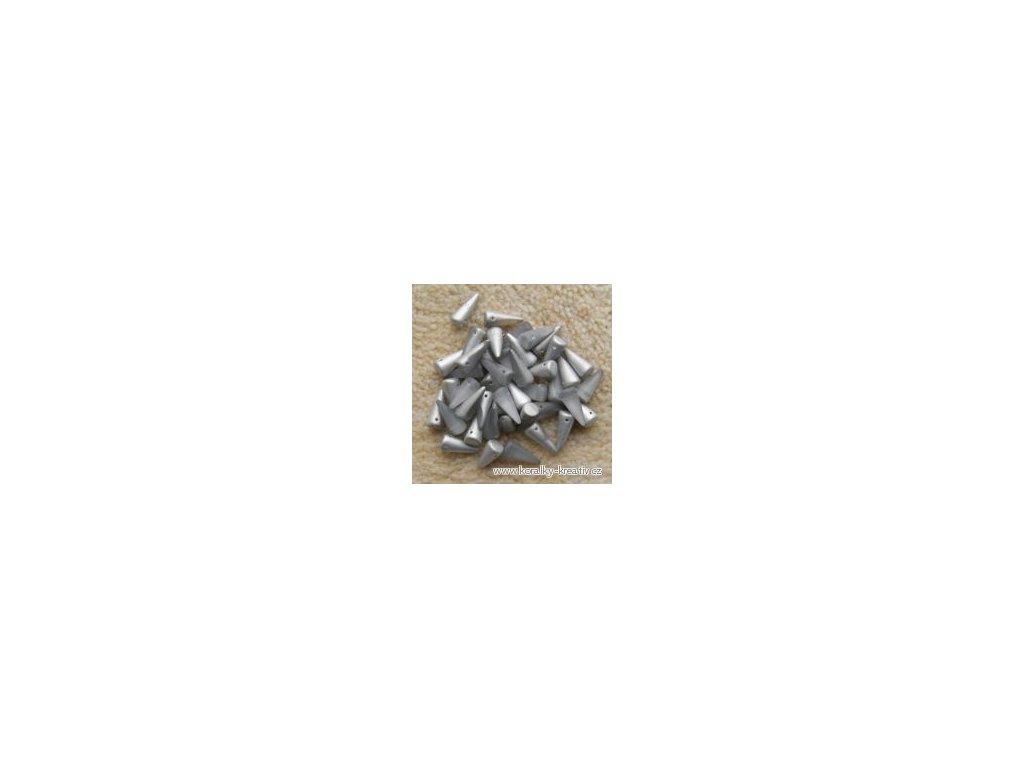 Korálky Spike Beads  - trn 00030/27001 - 5 x 10  mm