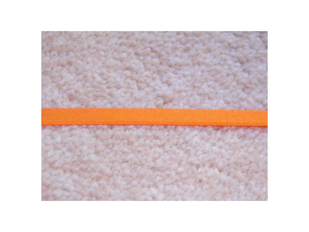 Stužka oranžová 6 mm