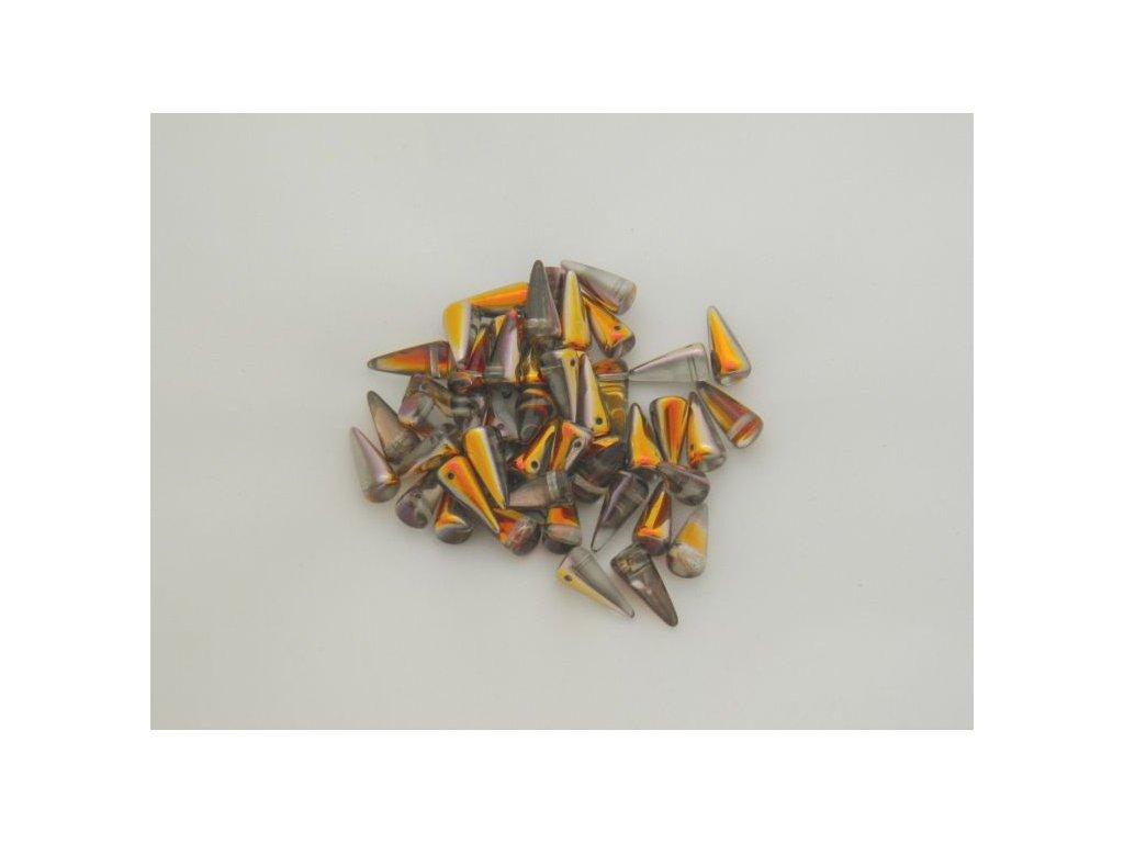 Korálky Spike Beads  - trn 00030-Santander - 6 x 14 mm