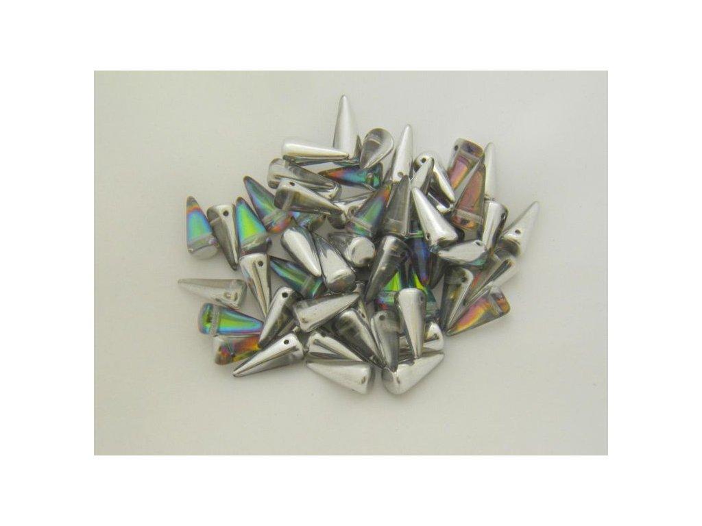 Korálky Spike Beads  - trn 00030/26601 - 6 x 14  mm