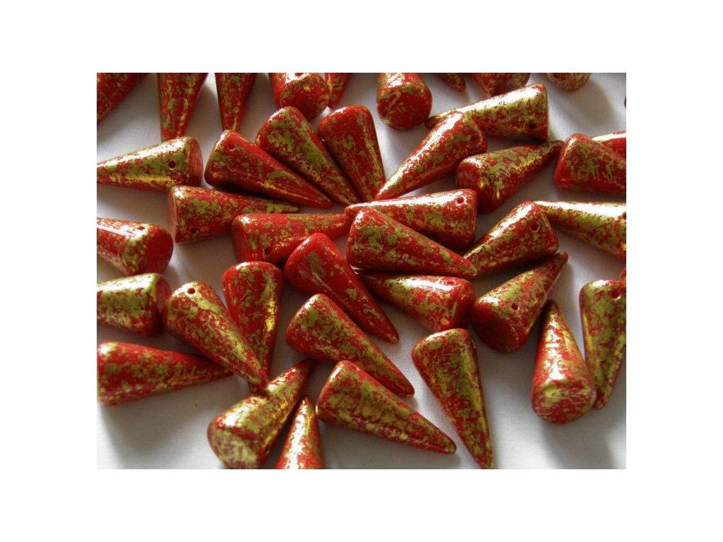 Korálky Spike Beads - trn 93200GR - 13 x 28 mm