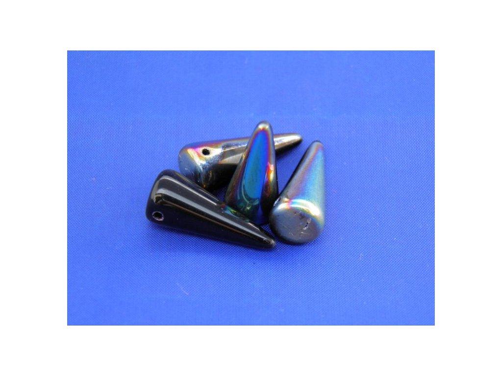 Korálky Spike Beads  - trn 23980/28101 - 9 x 21  mm