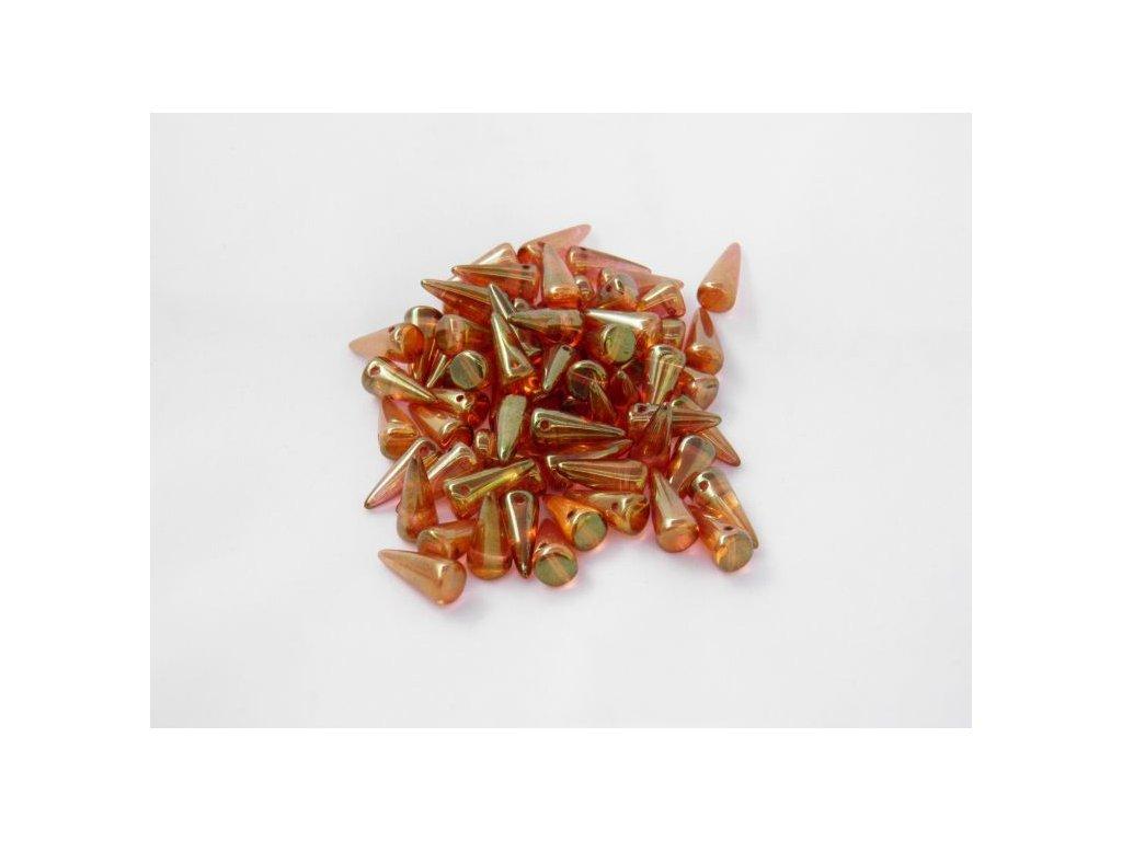 Korálky Spike Beads  - trn 00030/14495 - 6 x 14  mm