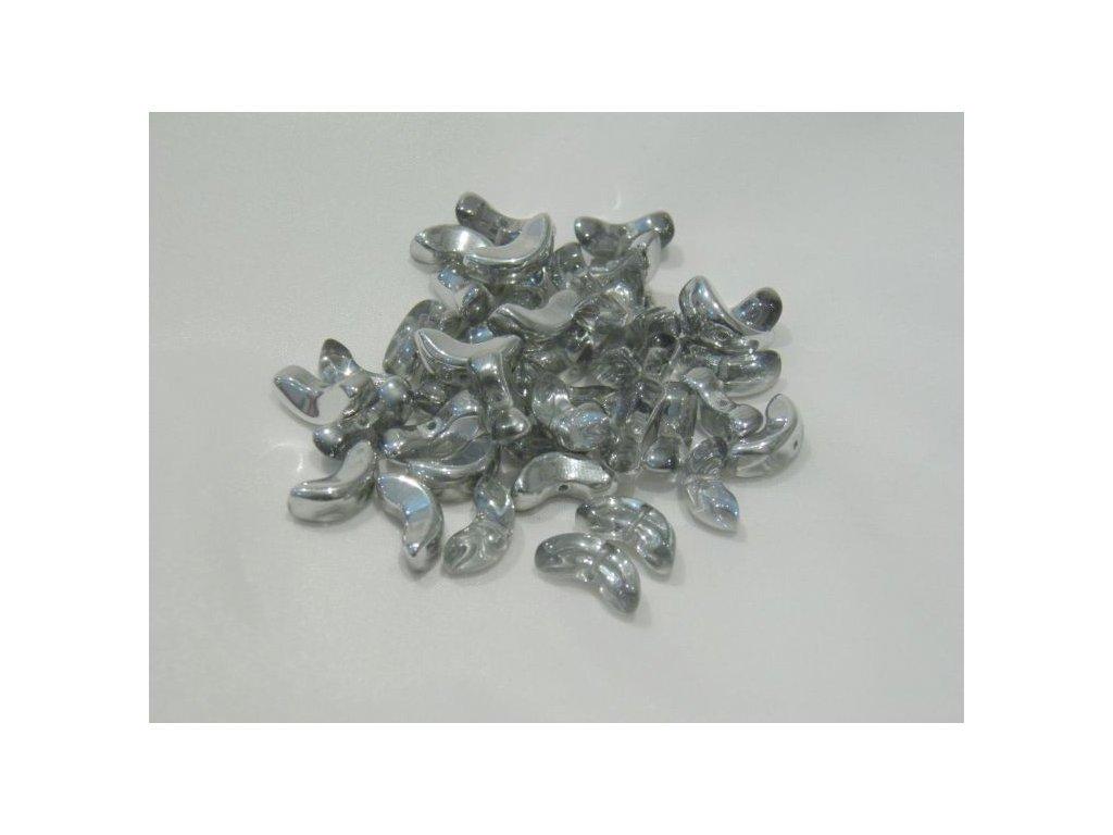 Korálky mačkané - rohlík 00030/27001 - 6 ks