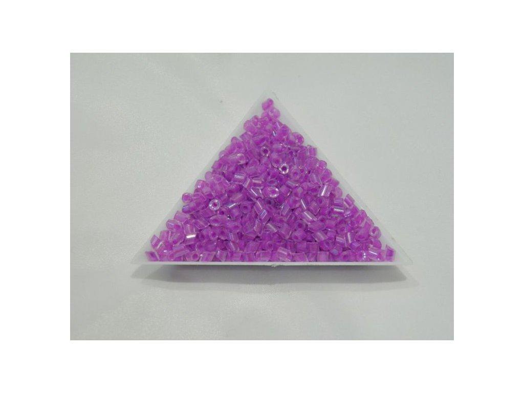 Korálky - rokajlové perličky Pipes šikmé - 3 mm