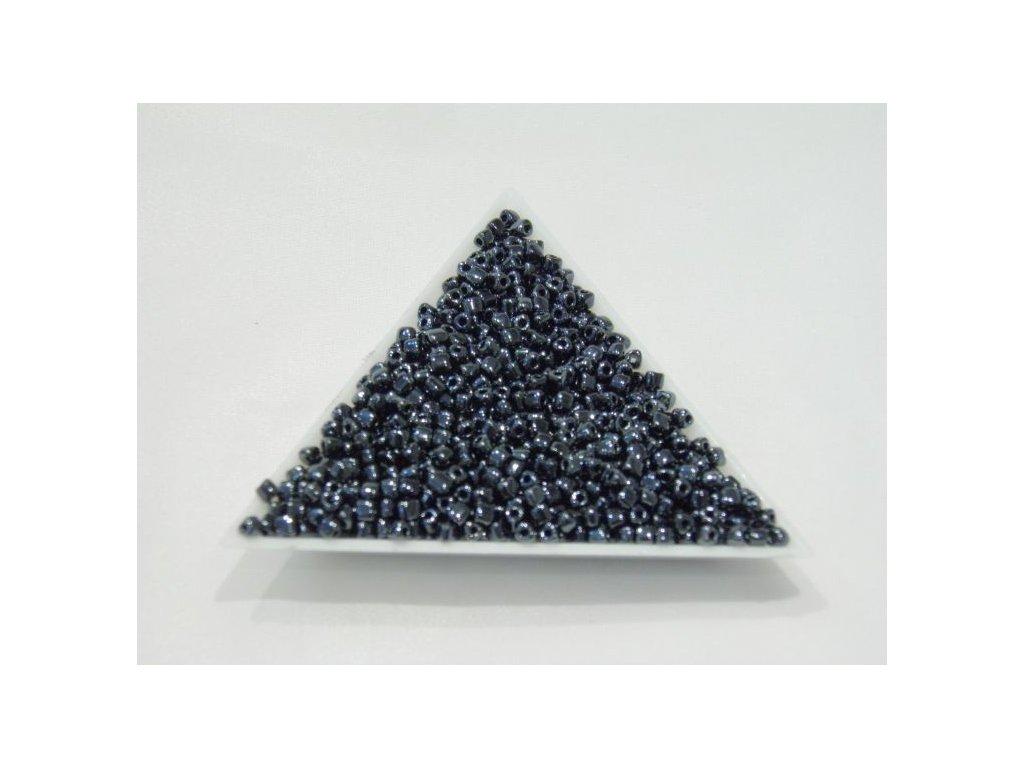 Korálky - rokajlové perličky - trojúhelníčky kulacené 3,5 mm