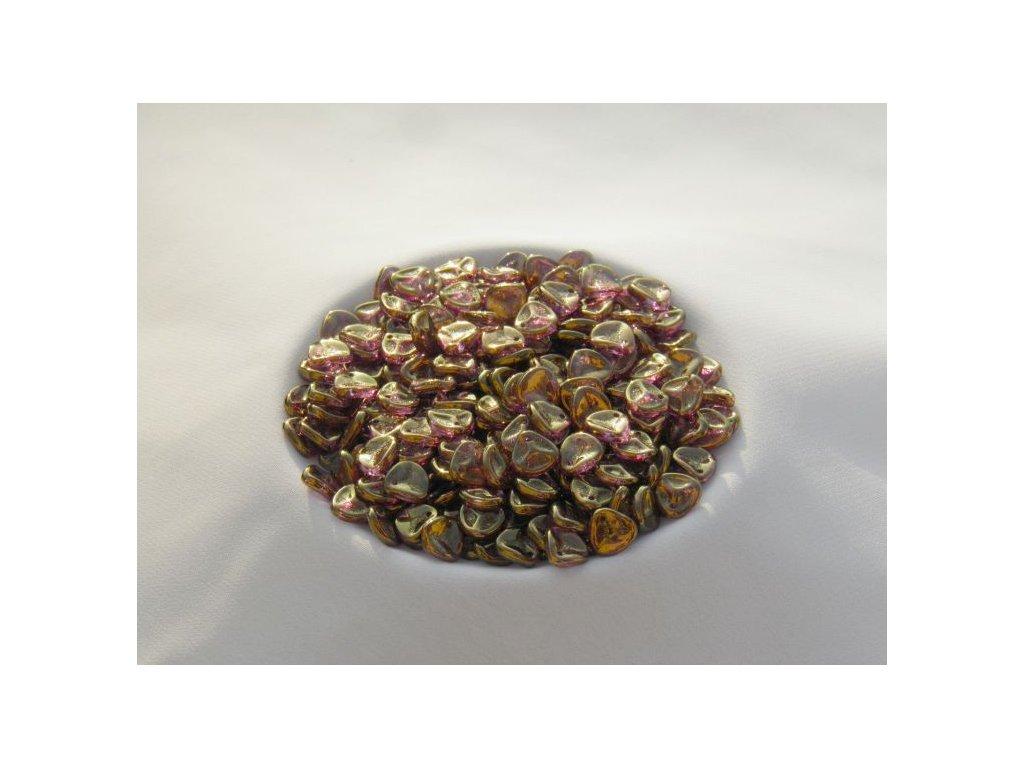 Korálky mačkané - Rose Petals 00030/14496