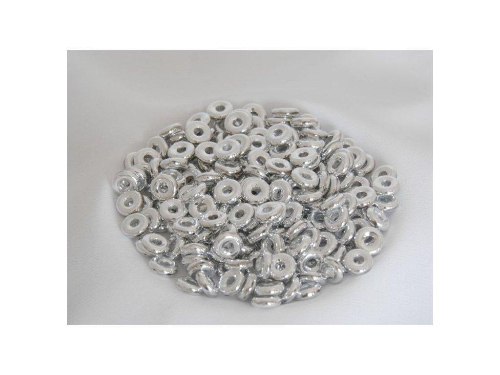 Korálky mačkané - kroužek 8 mm 00030/27000