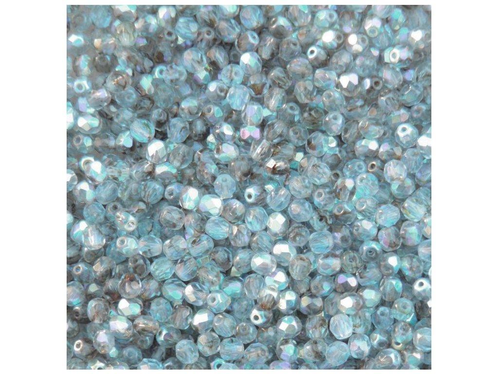 Korálky broušené - ohňovka 4 mm 38036/28701