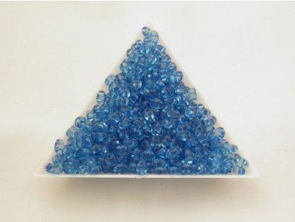 Korálky PRECIOSA Twin™ - krystal barvený modrý 01132