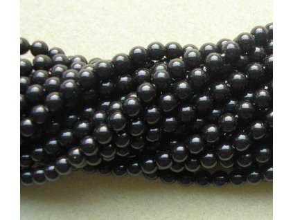 Korálky - voskované perle (70449) 3 mm
