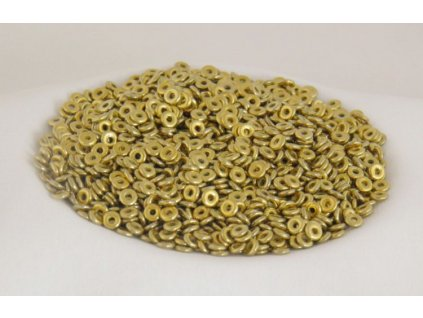 Korálky mačkané - kroužek 4 mm 02020/26440